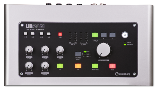 Steinberg UR28M 6-In/8-Out USB 2.0 Audio Interface