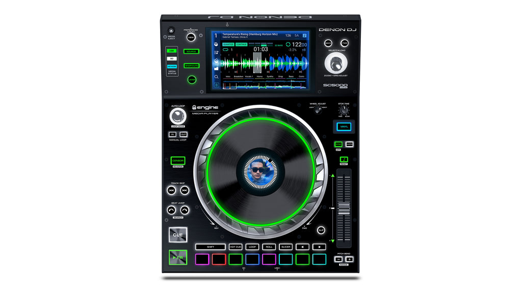 "Denon DJ SC5000 7"" Multi Touch Professional Media Player"
