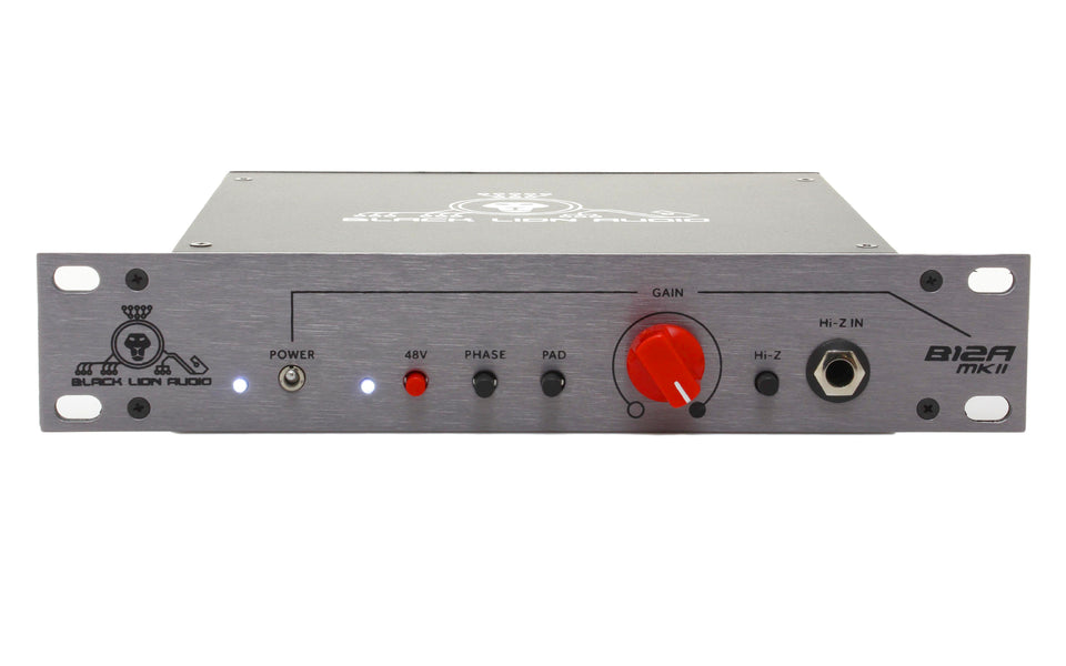 Black Lion B12A MKII Preamp