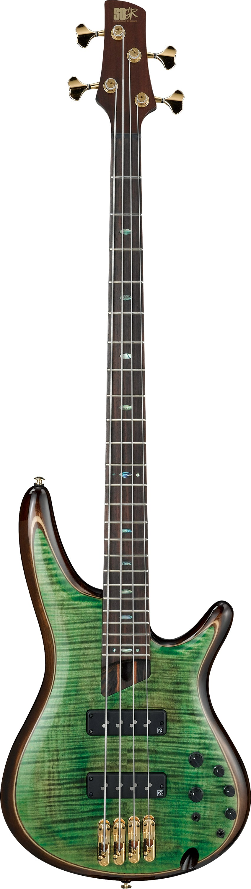 Ibanez SR1400E-MLG SR Premium 4 String Electric Bass - Mojito Lime Green