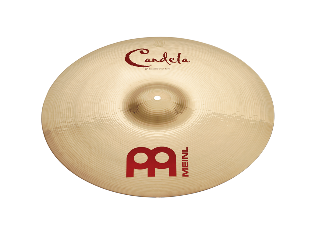 "Meinl 18"" Candela Timbales Crash Ride Cymbal"