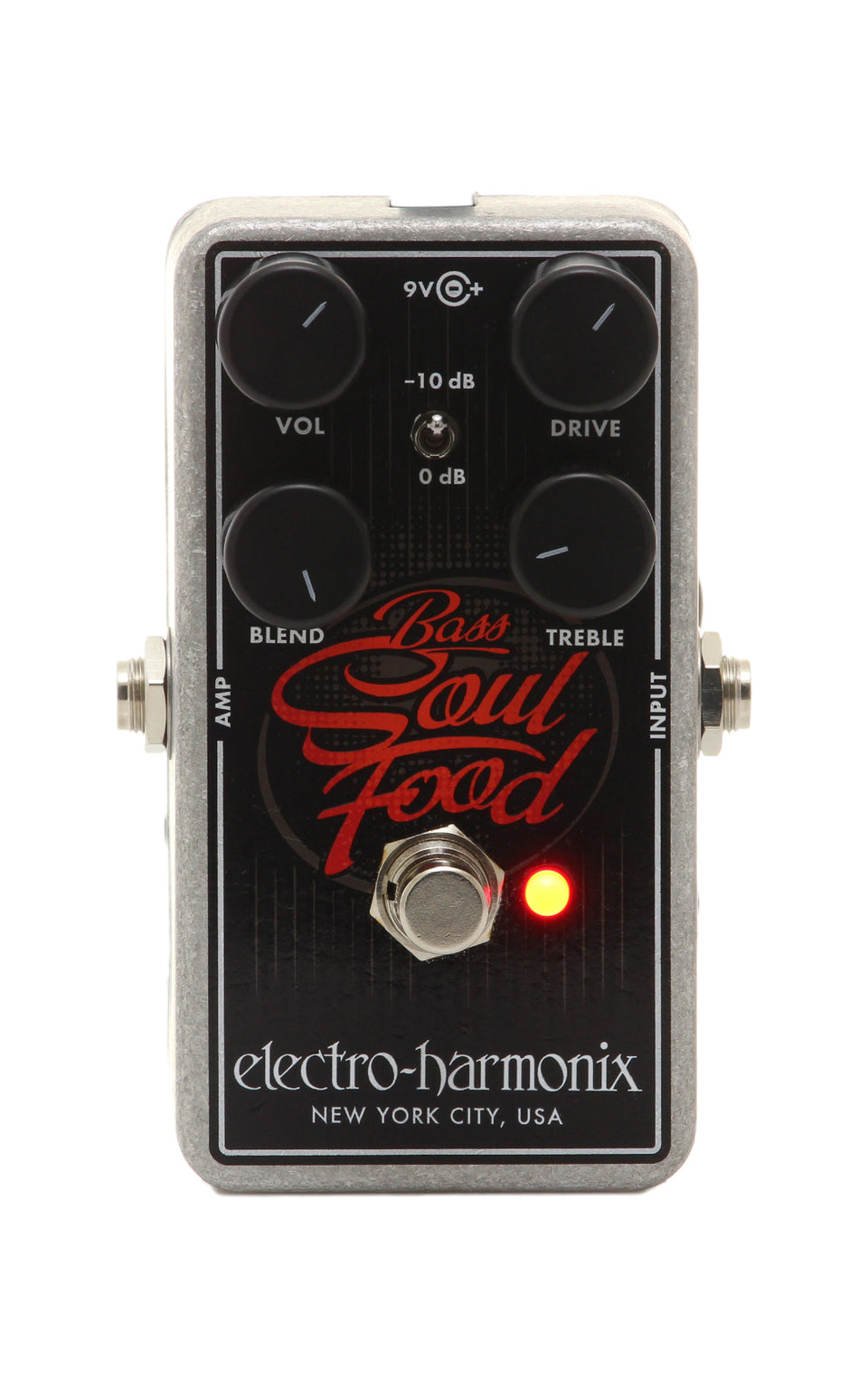 Electro Harmonix Bass Soul Food Transparent Overdrive Pedal