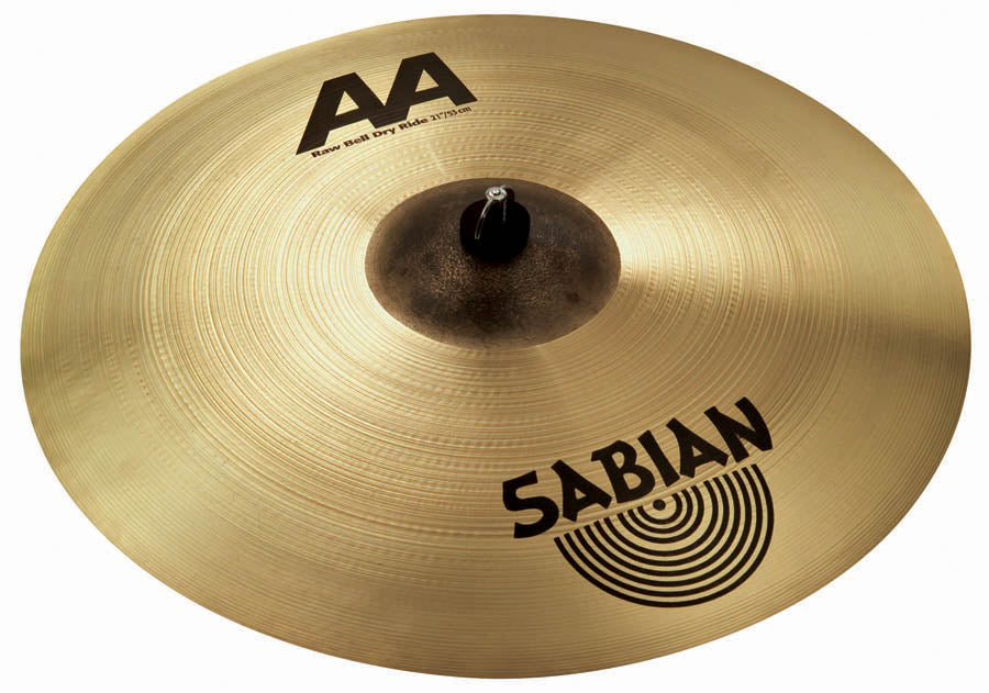 Sabian AA Raw Bell Dry Ride Cymbal Brilliant Finish