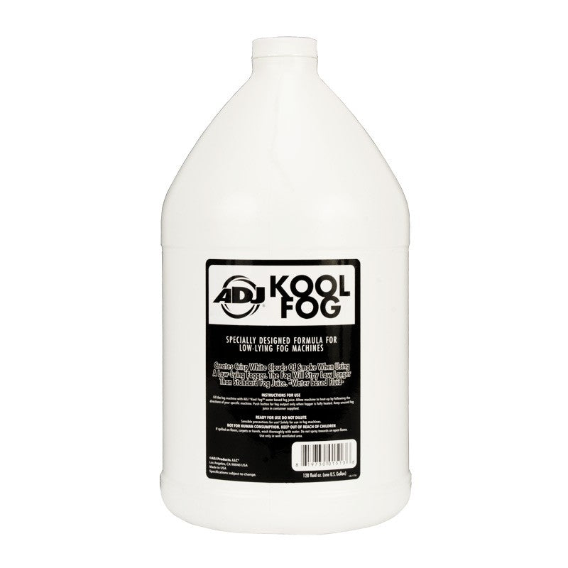 ADJ Kool Fog Low Lying Fog Fluid - 1 Gallon