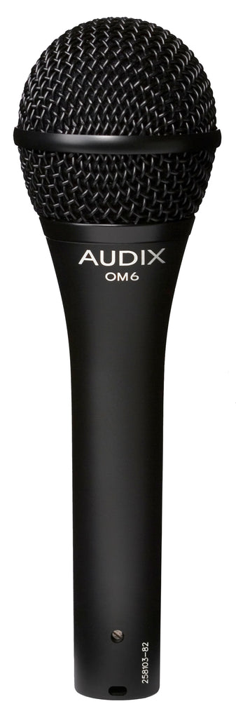 Audix OM6 OM Series Lead Vocal Mic W/ Extended Range