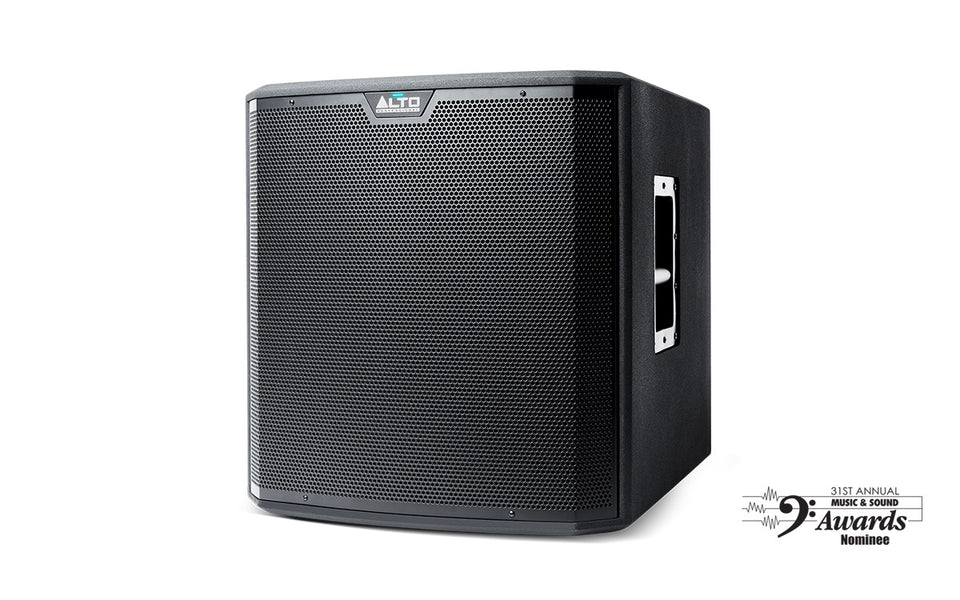 "Alto Professional TS215S 1250 Watt 15"" Powered Subwoofer w/Cover"