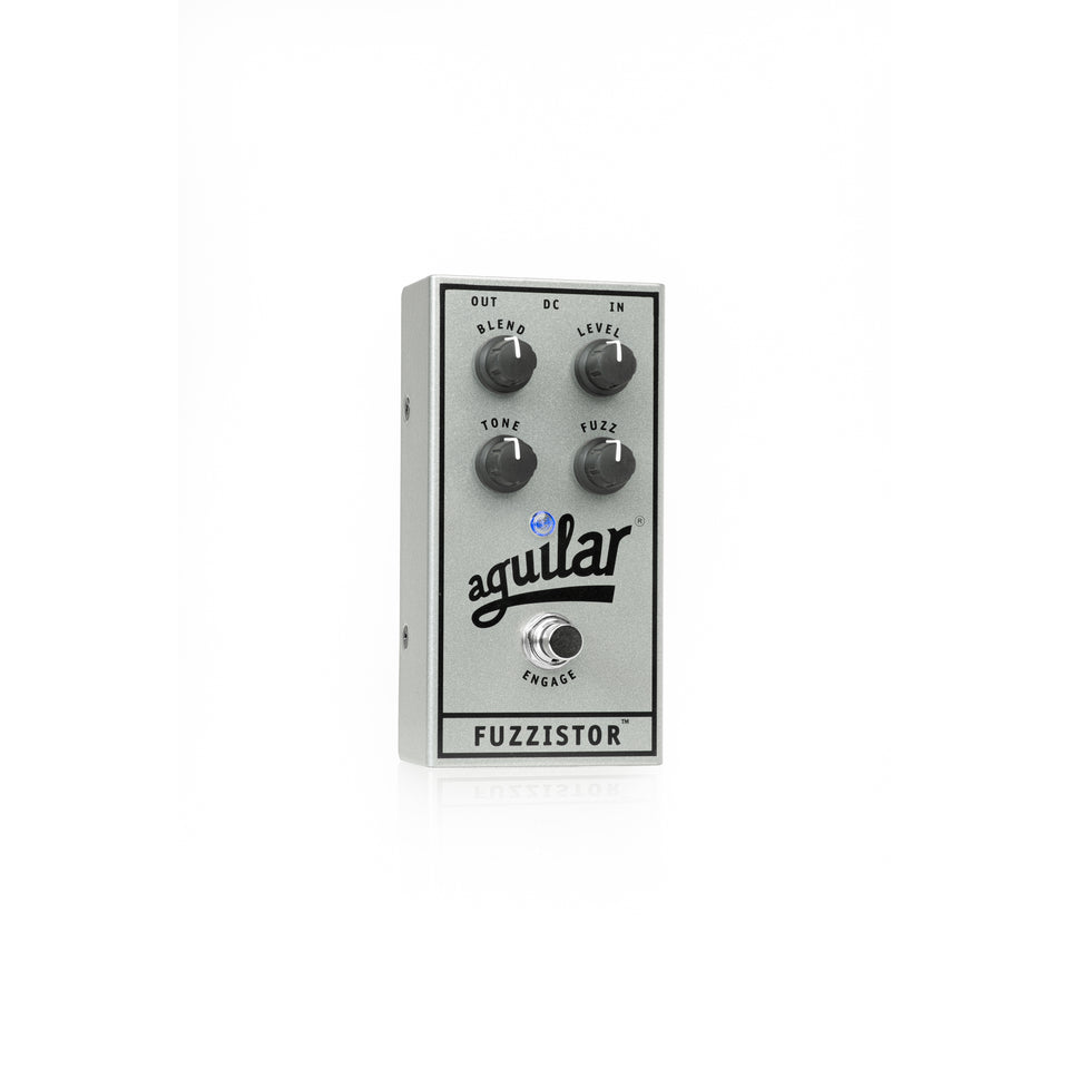 Aguilar 25th Anniversary Fuzzistor Bass Fuzz Pedal - Limited Edition Silver
