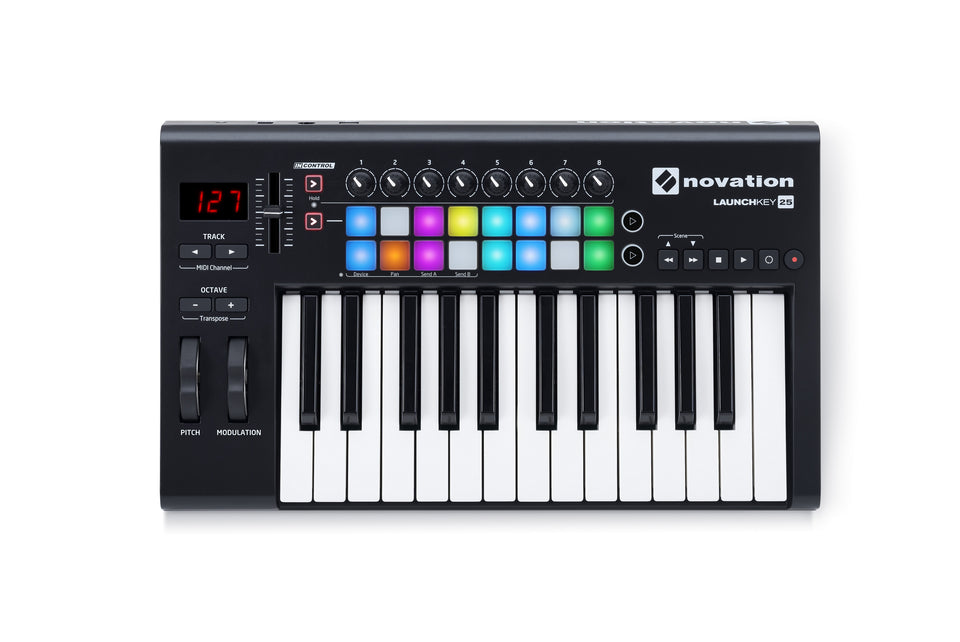 Novation Launchkey 25 MK2 25-Key Controller