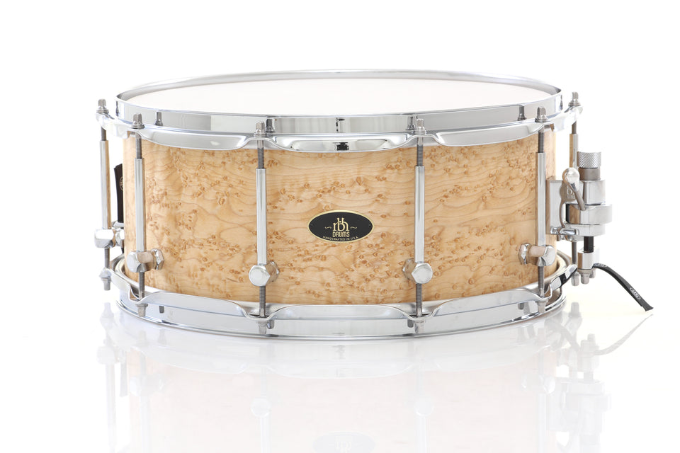 "RBH Drums 14"" x 6"" Prestige Snare Drum - Birdseye Maple"