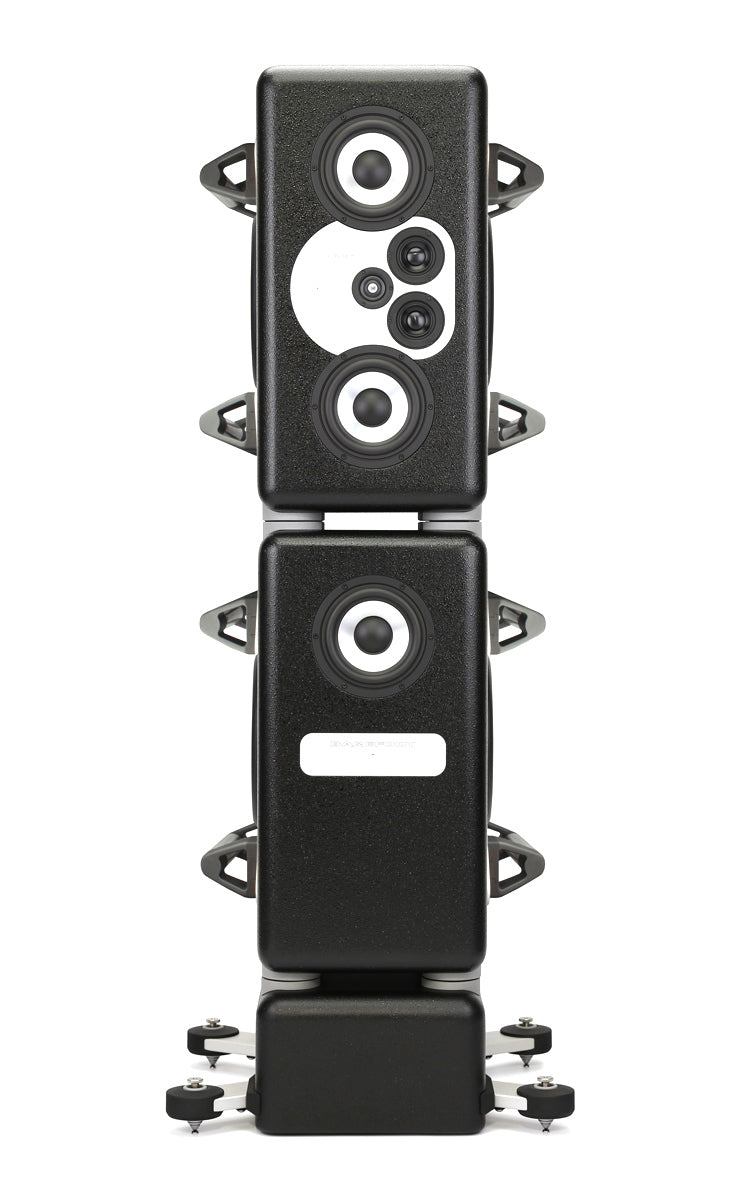 Barefoot Sound MasterStack12 Studio Monitors - Pair With Handles