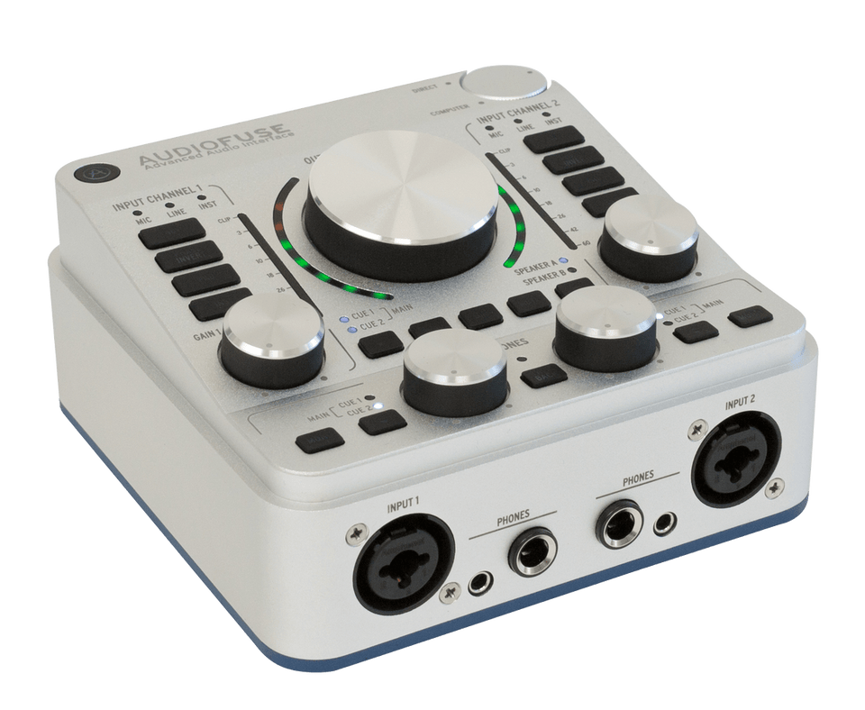 Arturia AudioFuse Audio Interface - Classic Silver