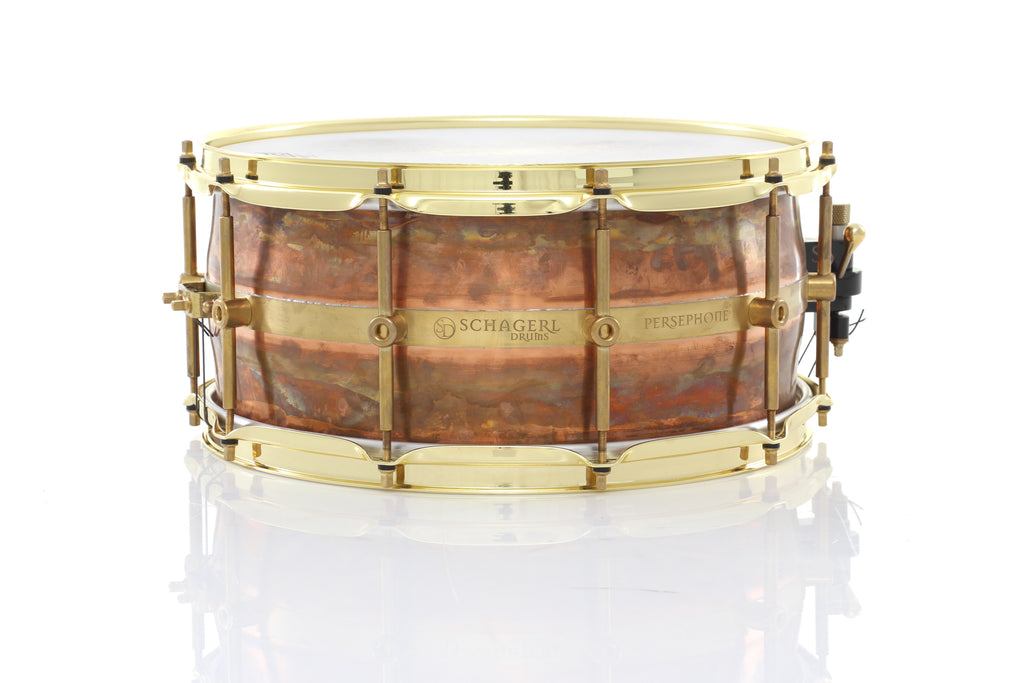 "Schagerl 14"" x 6.5"" Persephone Snare Drum"