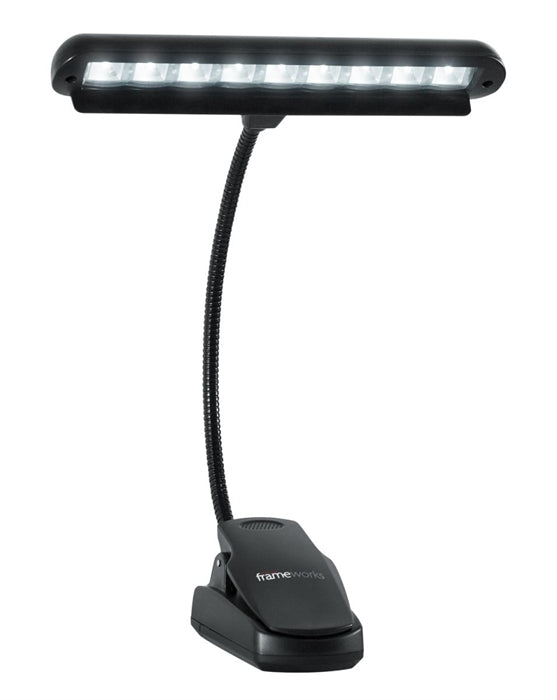Gator Frameworks Clip-On LED Music Lamp With Adjustable Neck