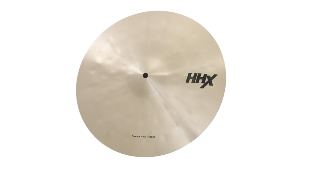 Sabian HHX Groove Hi-Hat Cymbals - Brilliant Finish