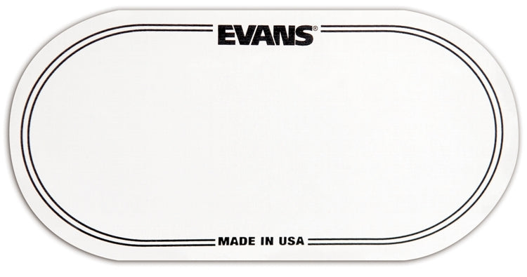 Evans Double Pedal Kick Pad EQ Patch , Clear