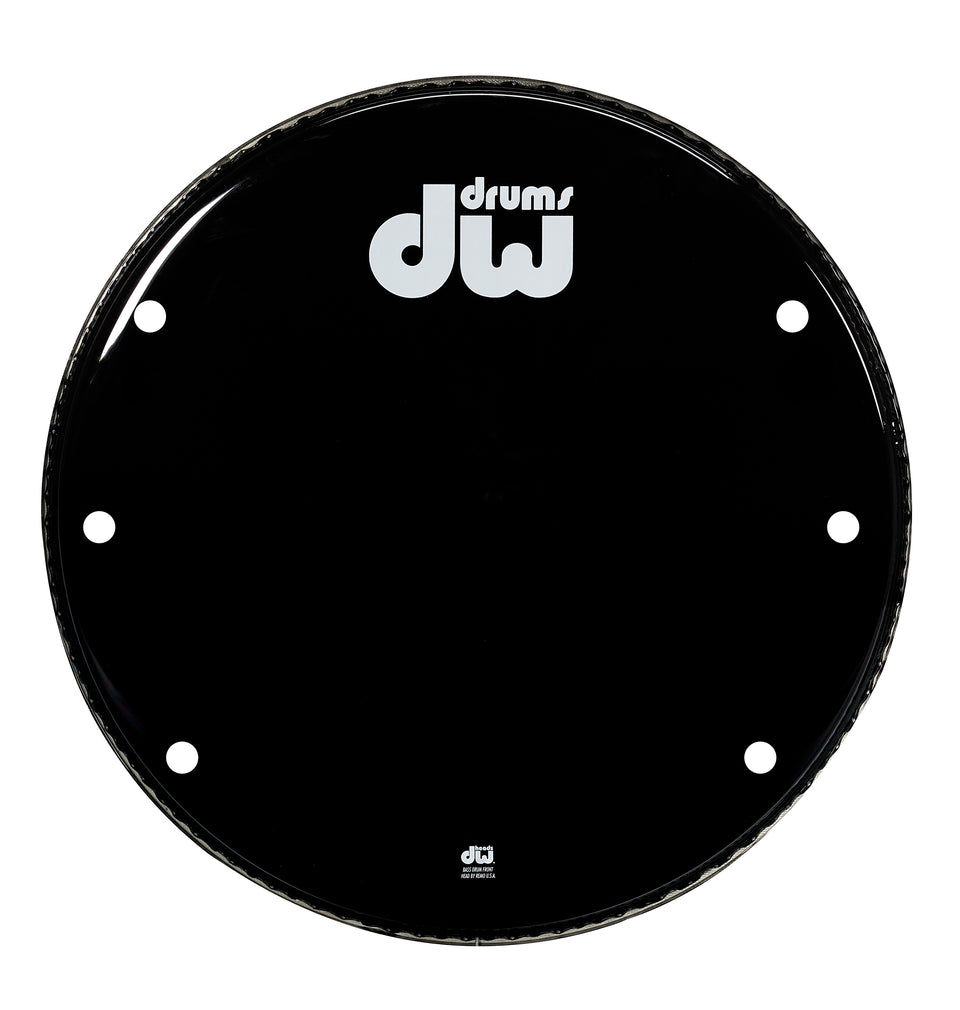 Drum Workshop 24-Inch Bass Drum Head - Gloss Black