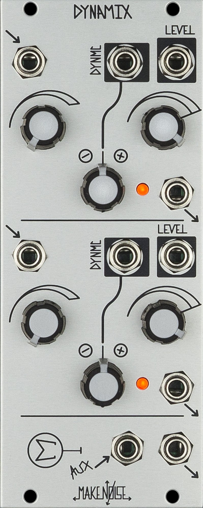 Make Noise DYNAMIX Mixer And Dynamics Manager Module