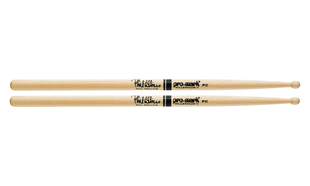 Promark TXPCW Hickory PC Wood Tip Phil Collins drumstick