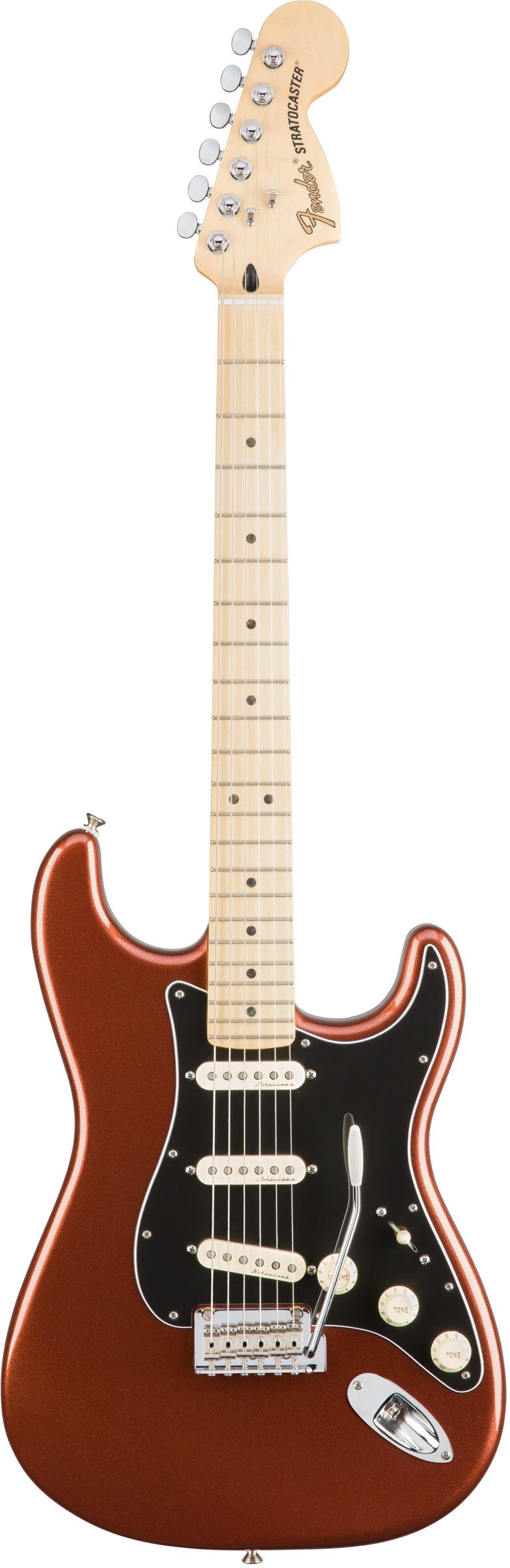 Fender Deluxe Roadhouse Stratocaster - Maple Fingerboard, Classic Copper