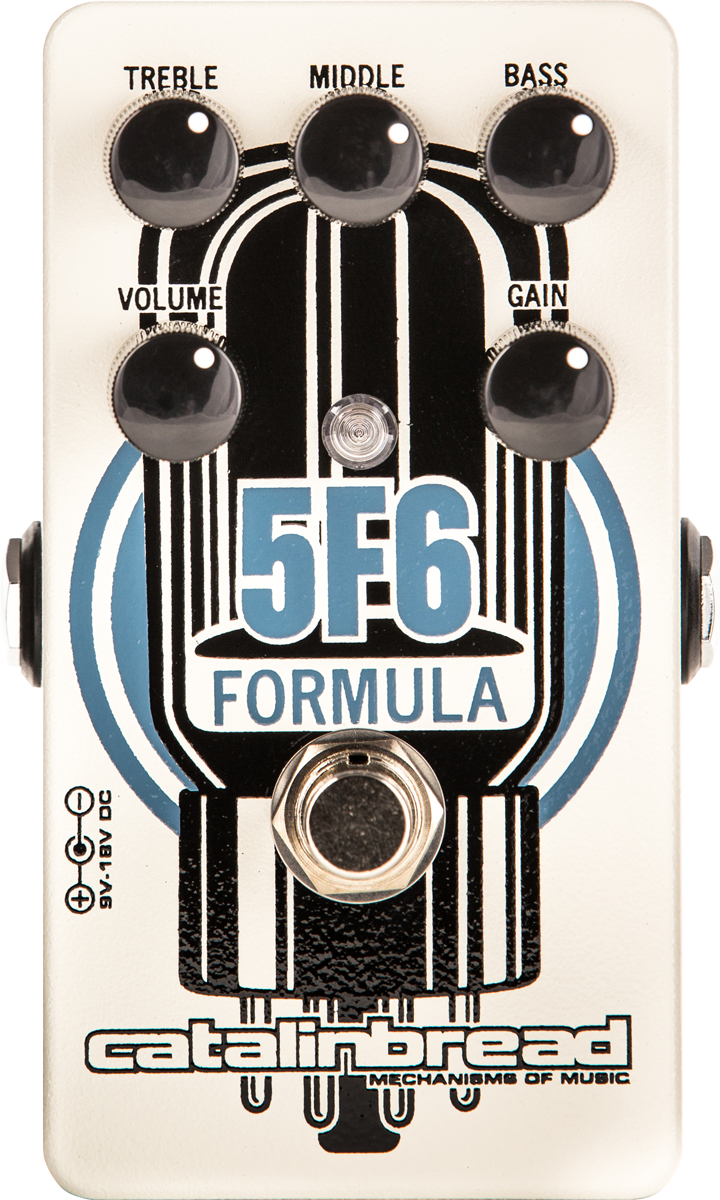 Catalinbread Formula 5F6 Tweed Bassman-Style Amplifier Pedal