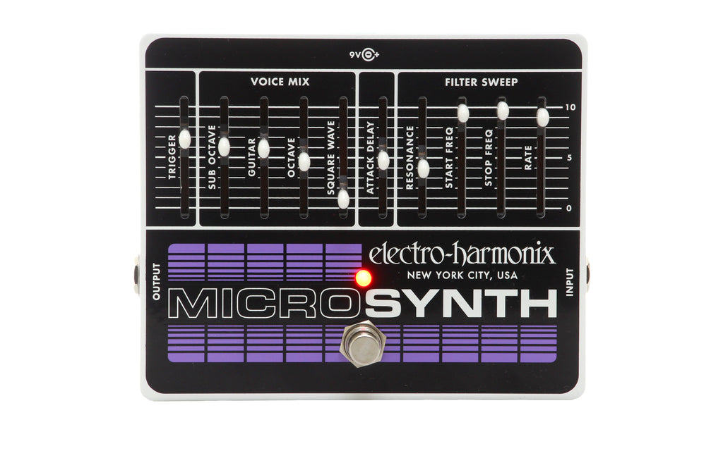Electro Harmonix Microsynth Analog Guitar Synthesizer Pedal