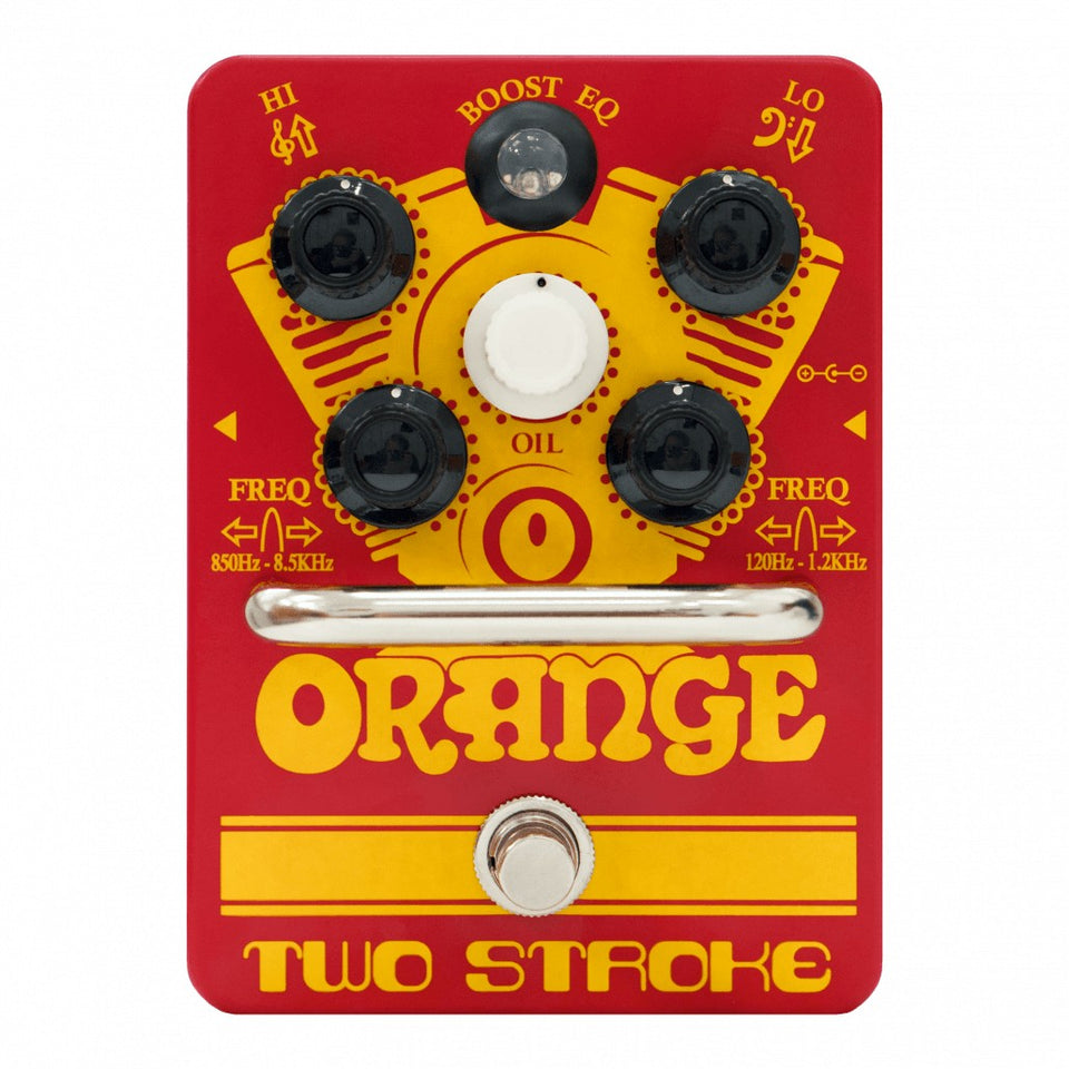 Orange Two Stroke Boost EQ Guitar Pedal