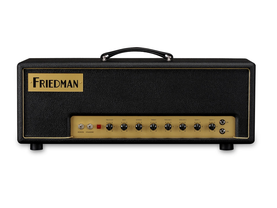 Friedman Small Box 2 Channel 50W Handwired Guitar Amplifier Head