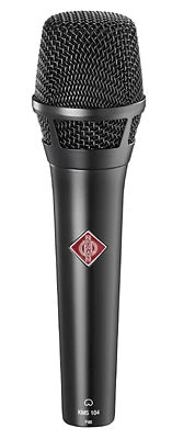 Neumann KMS 104 MT Cardioid Condenser Microphone W/ KMS Pouch and SG105 - Black