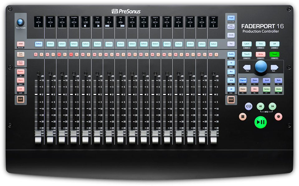 Presonus Faderport 16 16-Channel Mix Production Controller