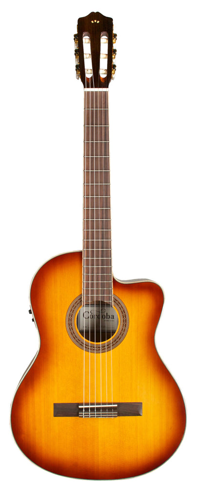 Cordoba C5-CE SB Nylon String Acoustic Electric Guitar - Sunburst