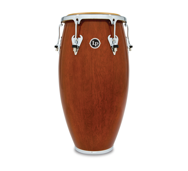 LP M752S-ABW Matador 11 3/4-Inch Wood Conga, Almond Brown/Chrome