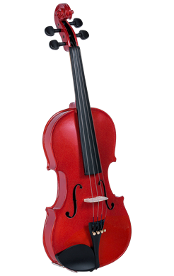 Cremona SV-130RD 42098 Violin Oufit in Red 4/4