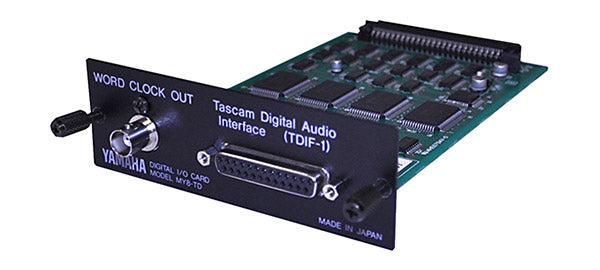 Yamaha MY8-TD TDIF Digital I/O Card