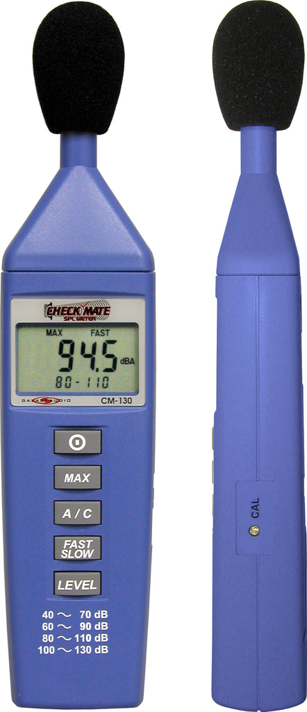 Galaxy Audio CM-130 SPL (Sound Pressure Level) Meter