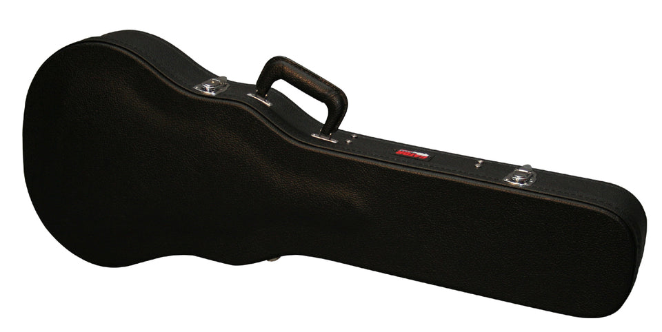 Gator Cases GWE-LPS-BLK Hard-Shell Wood Case For Gibson Les Paul Style Guitars