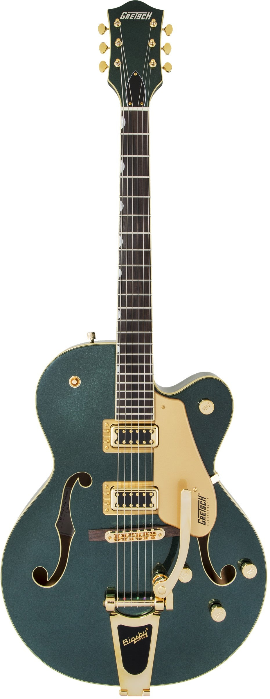 Gretsch G5420TG Limited Edition Electromatic Hollow Body Single Cut w/Bigsby & Gold Hardware - Cadillac Green