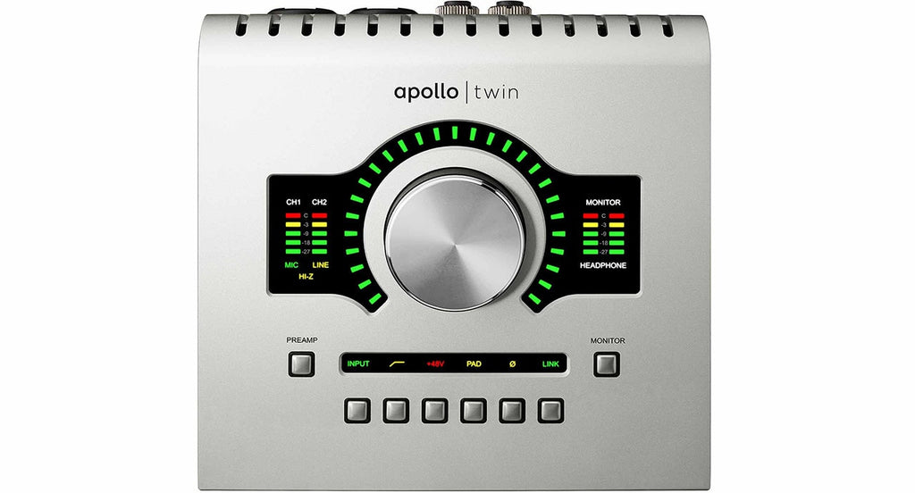 Universal Audio Apollo Twin USB W/ DUO Processing For Windows
