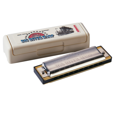 Hohner 590BX-C# Big River Harmonica, Key of C Sharp
