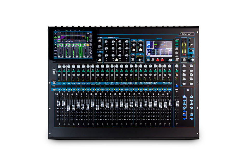 Allen & Heath QU-24C 24 Channel Digital Mixer - Chrome Edition