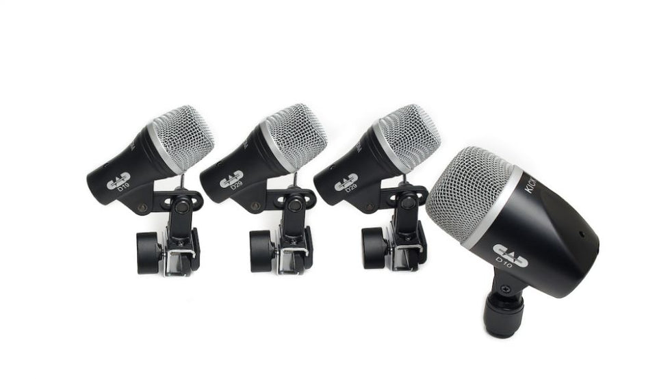 CAD Audio Stage4 4 Piece Drum Microphone Pack