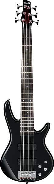 Ibanez GSR206BK 6 String Electric Bass Guitar - Black