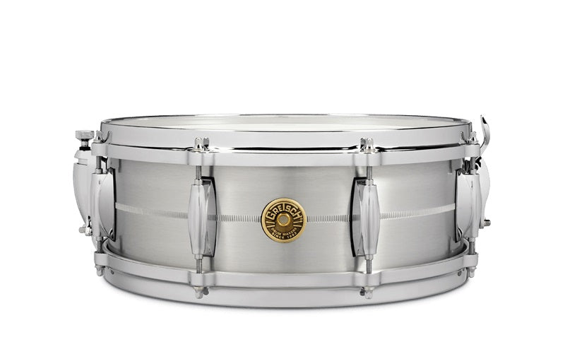 "Gretsch 14"" x 5"" USA Custom Solid Aluminum Snare Drum"