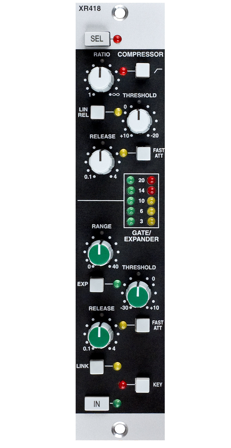 Solid State Logic X-Rack E Series Dynamics Module