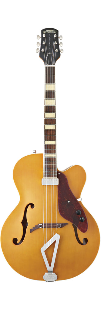 Gretsch G100CE Synchromatic Archtop Cutaway Acoustic Electric Guitar - Natural
