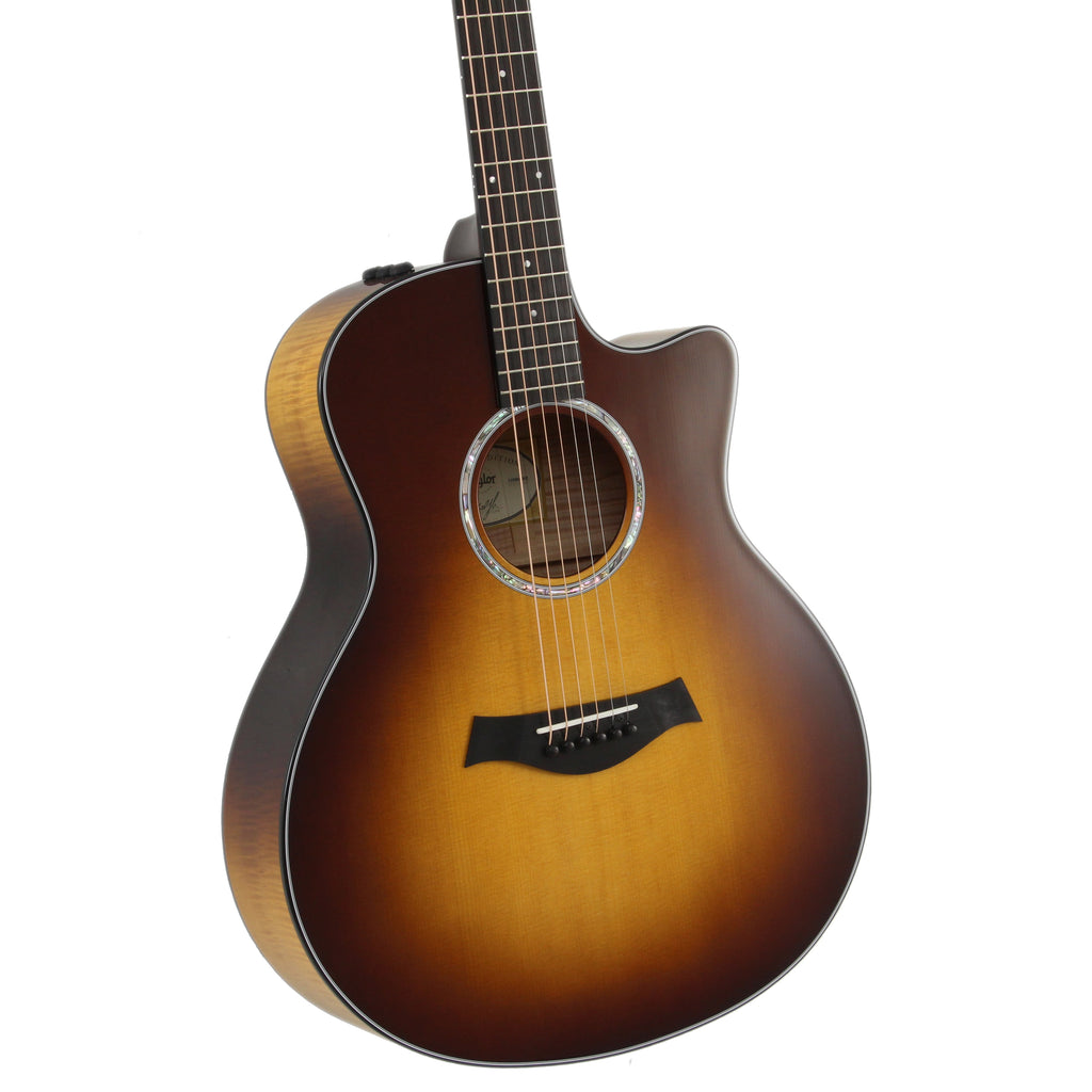 Taylor 416ce LTD Cutaway Acoustic Electric Guitar - Tobacco Sunburst