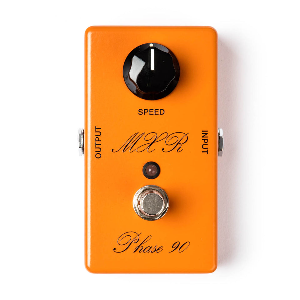 Dunlop MXR Script Phase 90 - LED Effect Pedal