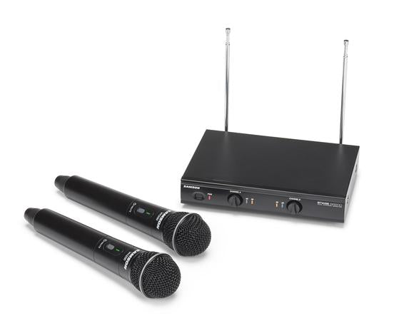 Samson Stage 200 Dual Vocal Wireless System - Channel Group B