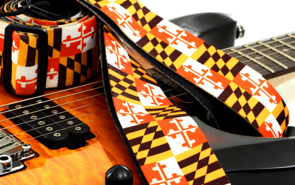 Maryland Pride Guitar Strap