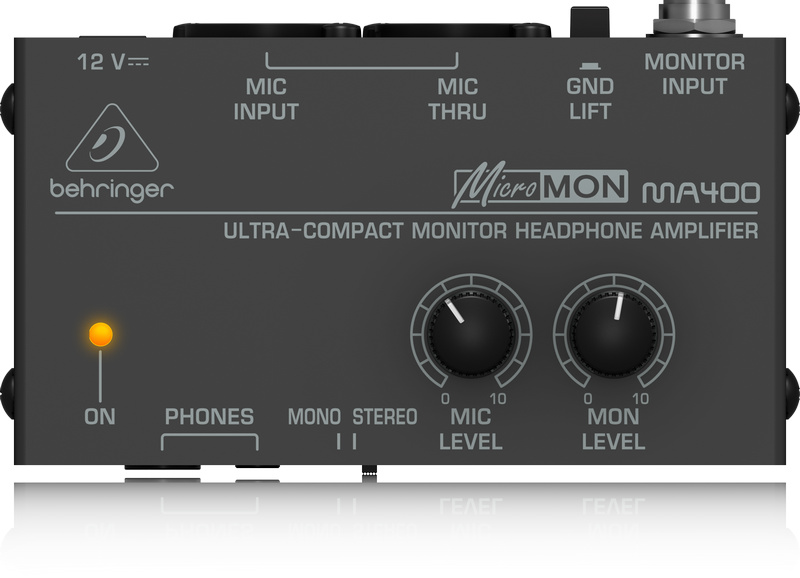 Behringer MA400 Compact Monitor Headphone Amplifier