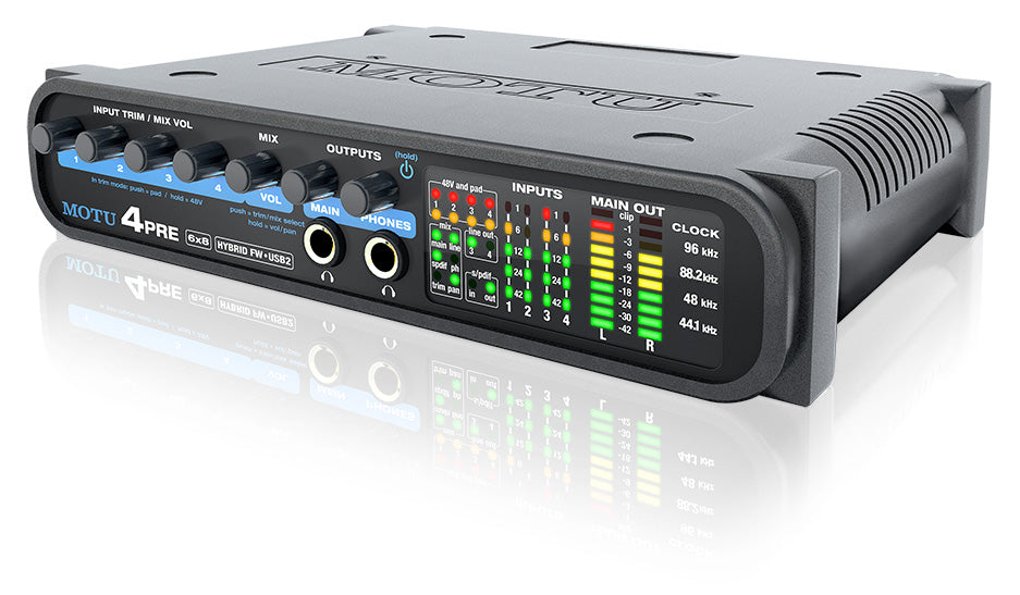 MOTU 4Pre Audio Interface